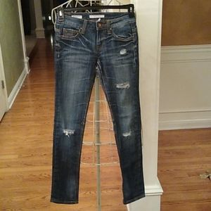 Vigoss  Brooklyn Skinny Distressed Jeans